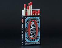 Sriracha Revolver Safety Matches