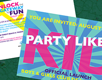 Promotional Materials: Boys & Girls Club of Lake Forest