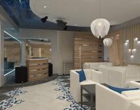 Design of interior restourant