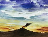 Popocatépetl 2019 (I-V)