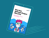 E-book illustration and landing page