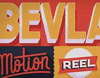 The Bevlak - Motion Reel 2015