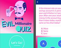 Evil Millionaire App UI