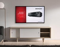 Denon AVC-X8500H Promotional Advert