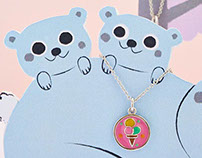 Chrysalis Jewellery - Illustration Campaign