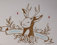 Jackalope wedding