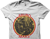 Bruno Mars T-shirt Design