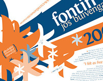 Fontin Typographic Poster