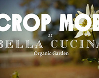 Crop Mob at Bella Cucina Organic Garden