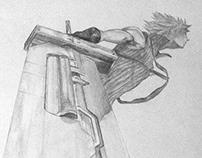 Final Fantasy VII Character Portraits