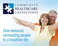 Community Healthcare Connections Postcard Direct Mailer