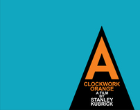 Film poster redesign: A Clockwork Orange