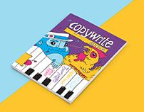 Copywrite Magazine Cover Art