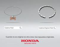 AD Honda Genuine Parts: Si no es original, es otra cosa