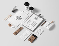 Trafalgar coffee house branding