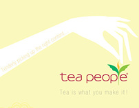 Tea People - Corporate Re-branding Exercise