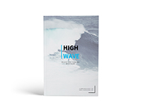 High Wave A4 Surfing Brochure