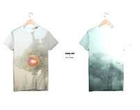 GENETHICS_hybrid fashion design for simple t-shirts