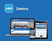 Zamora Popular Party Website