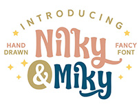 Free* Nilky & Miky Hand-drawn Free Typeface