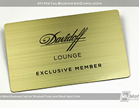 Brushed Brass Exclusive Member Card