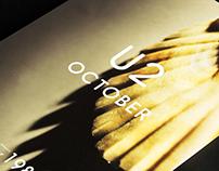 U2 October - Vinyl Design