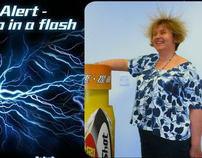 Lucozade Alert : Sharpen up in a flash