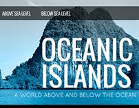 Oceanic Islands Informational Site