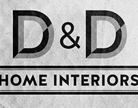D&D Home Interiors Branding