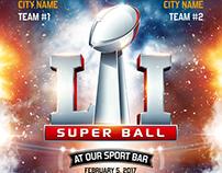 American Football Super Ball Flyer vol.4