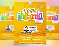 Netflyer Matinê Infantil CNCS - 2017