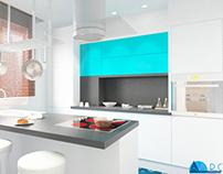 INTERIOR: Duplex Apartment A.R