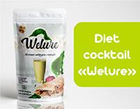 """Diet cocktail """"Welure"""""""