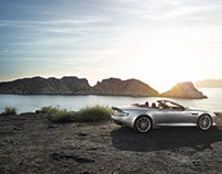 Aston Martin DB9, photographer René Staud