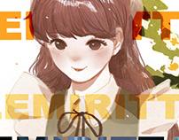 masking tape illustration