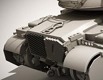 M103 Highpoly 3D tank