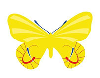 Punny Butterflies