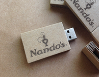 Nando's Cardboard USB