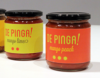 De Pinga Salsa Packaging