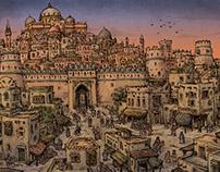 Medieval arabic city I