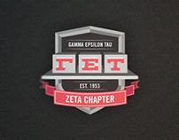 Gamma Epsilon Tau // Branding