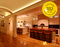 IESNA AWARD WINNER Private Residence, Newport Beach, CA