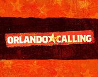 Orlando Calling menu