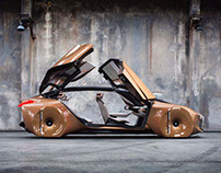 BMW VISION NEXT 100 - Photoshoot by James Holm