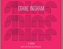 "Book cover - ""SHINE""  Diane Ingram"