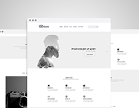 Oasis Web template design.