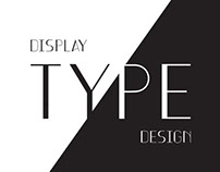 Display Type Design