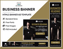 Business Banner - HTML5 Ad Template