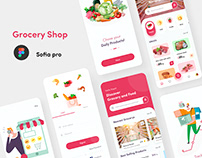 Grocery Products Shopping app