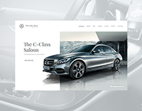 Mercedes-Benz Website Concept